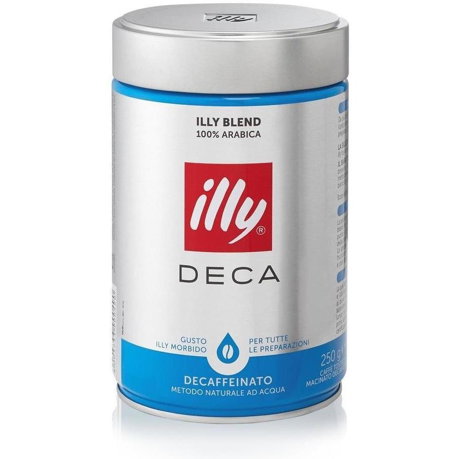 Illy Caffe Espresso Decaf 250 Gr