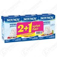 Νουνου Κρέμα Γάλακτος 200 ml (2+1 Δώρο)