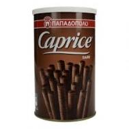 Παπαδοπούλου Πουράκια Caprice Μαύρη Σοκολάτα 250 gr
