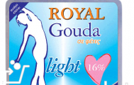 Royal Gouda  Light σε Φέτες 200 gr