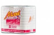 Maxi  Χαρτί Υγείας 2 φυλο  8 ρολλά