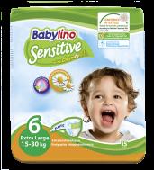 Babylino Sensitive Πάνες Νο 6 Extra Large 15 Τεμάχια