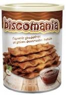 Biscomania  Γεμιστές Γκοφρέτες με Φουντούκι & Κακάο 375 gr