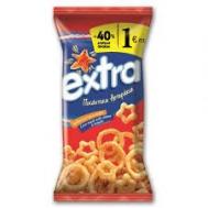 Τυρογαριδάκια Extra  Πικάντικα 130 gr + 40 % Δωρεάν Προϊόν