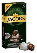 Jacobs (Espresso 10) Intenso 10 Κάψουλες 52 gr για Μηχανή Nespresso