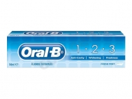 Oral B 1 Anti-Cavity -2 Whitening -3 Freshness, Fresh Mint 100 ml
