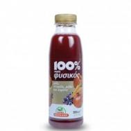 Κουκάκη Φυσικός Χυμός Ρόδι Σταφύλι Μήλο και Καρότο 1 lt