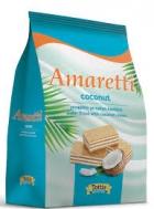 Amaretti Γκοφρέτα Καρύδα Σακούλα 135 gr