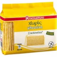 Παπαδοπούλου Crackinettes Χωρίς Γλουτένη 100 gr