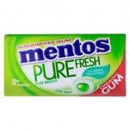 Mentos Pure  Τσίχλα Fresh Lime Mint 30 gr
