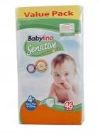 Babylino Sensitive Πάνες Νο 4+ Extra Large 46 Τεμάχια