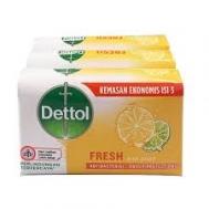 Dettol Fresh Σαπούνι 3X 65 gr