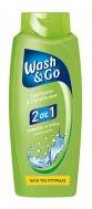 Wash & Go 2 σε 1 Σαμπουάν & Condiotioner 700 ml