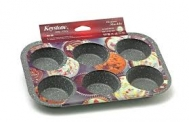 Keystone  Φορμάκι Muffin Jumbo 6 Τεμάχια