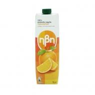 Ηβη Φυσικός Χυμός Πορτοκάλι  1L