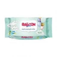Ballloon Μωρομάντηλα Aloe Vea 100 Τεμάχια