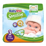 Babylino Sensitive No3 22 Τεμάχια