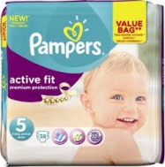 Pampers Active Fit 5  38  Τεμάχια
