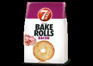 Bake Rolls Παξιμάδια Bacon 80 gr  + 40%  Προιόν