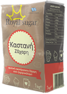 Royal Καστανή Ζάχαρη 1 kg