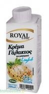 Royal Κρέμα Γάλακτος Light 12% Λιπαρά 250 ml