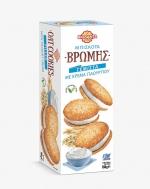Βιολάντα Μπισκότα Βρώμης  Γεμιστά με Γιαούρτι 180 gr