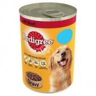 Pedigree Σκυλοτροφή με Μοσχάρι 400 gr