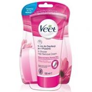 Veet Normal Skin Αποτριχωτική Κρέμα για το Ντουζ 135 ml