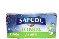 Safcol Τόνος με Λάδι 2x160 gr