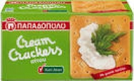 Παπαδοπούλου Cream Cracker Σίτου Χωρίς Ζάχαρη 165 gr