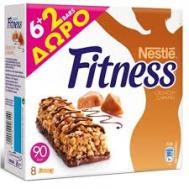 Nestle  Fitness Mπάρες Δημητριακών Choco & Orange 6 x 23.5 gr