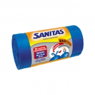 Sanitas  Σακούλες Απορριμμάτων 58x75 20 Τεμάχια