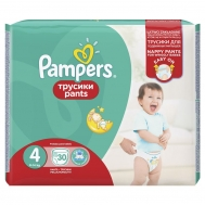 Pampers  Pants No 4 27 Τεμαχια