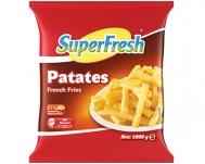 Super Fresh Πατάτες Προτηγανισμένες 1 kg