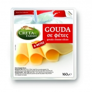Creta Farms Gouda Ολλανδίας σε Φέτες 160 gr