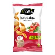 Snatts Τσιπς Κινόα με Τομάτα & Βασιλικό  85 gr