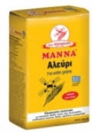 Μάννα Αλεύρι Κίτρινο για όλες τις χρήσεις 1 kg