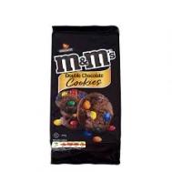 M&Ms Μπισκότα Cookies Double Chocolate 180gr