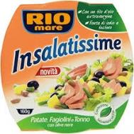 Rio Mare Insalatissime Patate, Fagioli & Tonno 160 gr