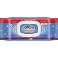 Wet Hankies Clean & Protect Αντιβακτηριδιακά Μαντηλάκια Καθαρισμού 72 Τεμάχια