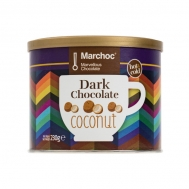 Marchoc Ρόφημα Σοκολάτας Μαύρη Σοκολάτα & Καρύδα 230 gr