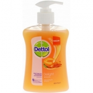 Dettol Βερίκοκο Αντιβακτηριδιακό Κρεμοσάπουνο 250 ml