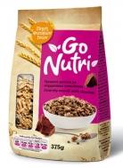 Go Nutri Τραγανό Μούσλι από Μπουκιές Δημητριακών με Σοκολάτα 375 gr