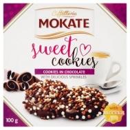 Mokate Sweet Cookies με Επικάλυψη  Κομματιών Σοκολάτας 100 gr