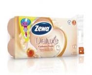 Zewa Deluxe Ροδάκινο Χαρτί Υγείας 8 Ρολά