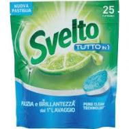 Svelto Ταμπλέτες Πλυντηρίου Πιάτων Tutto in 1 25 Τεμάχια