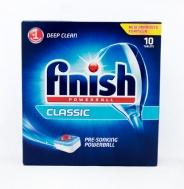 Finish Ταμπλέτες Πλυντηρίου Πιάτων Classic 10 Τεμάχια