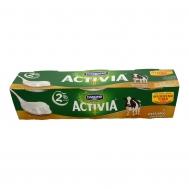 Activia Γιαούρτι Aγελάδος 2% 3 Χ 200 gr