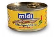 Midi Καλαμαράκια Πικάντικα 185 gr