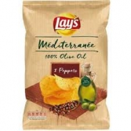 Lays  Πατατάκια Mediterannean 3 Peppers 100  gr